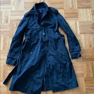 Marc By Marc Jacobs black trench coat